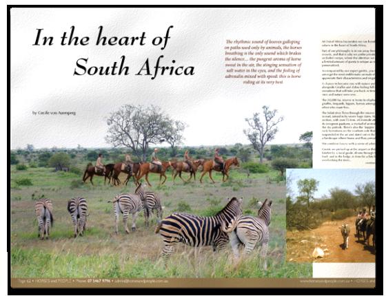 Pferde und Menschen| Artikel